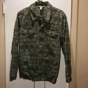 Military outlet style Aztec jacket